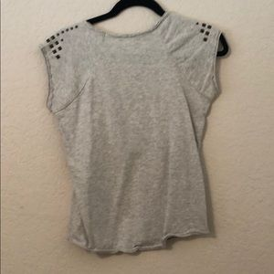 Forever 21 Tops - Heather grey tee with mail heads